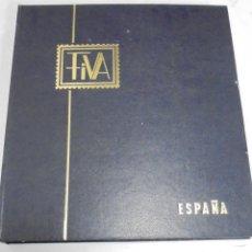 Sellos: ALBUM FIVA. ESPAÑA 1983 - 1991. SELLOS Y BLOQUES. COMPLETO DE HOJAS NO DE SELLOS. VER FOTOS. Lote 224273397