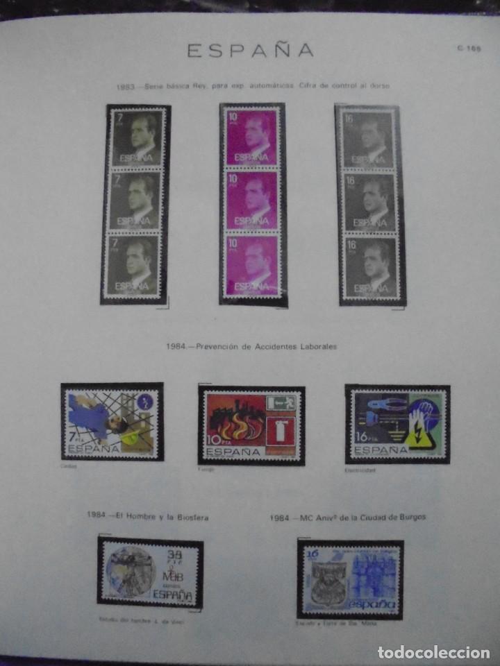 Sellos: ALBUM FIVA. ESPAÑA 1983 - 1991. SELLOS Y BLOQUES. COMPLETO DE HOJAS NO DE SELLOS. VER FOTOS - Foto 11 - 224273397