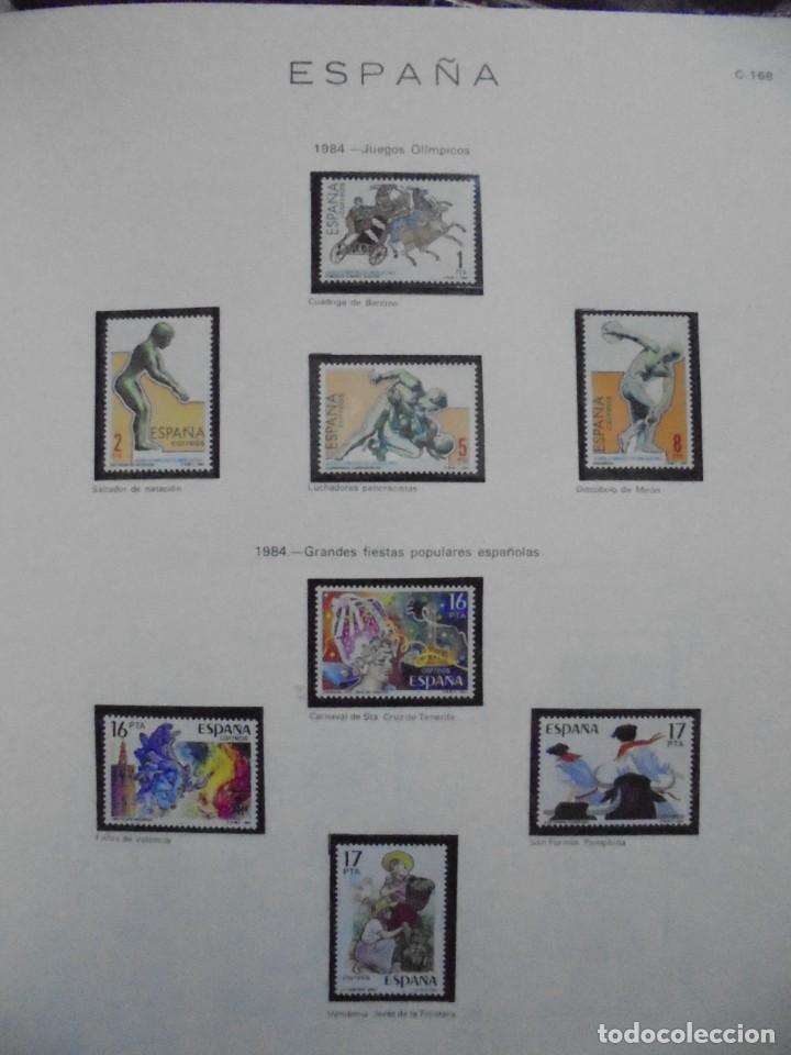 Sellos: ALBUM FIVA. ESPAÑA 1983 - 1991. SELLOS Y BLOQUES. COMPLETO DE HOJAS NO DE SELLOS. VER FOTOS - Foto 14 - 224273397