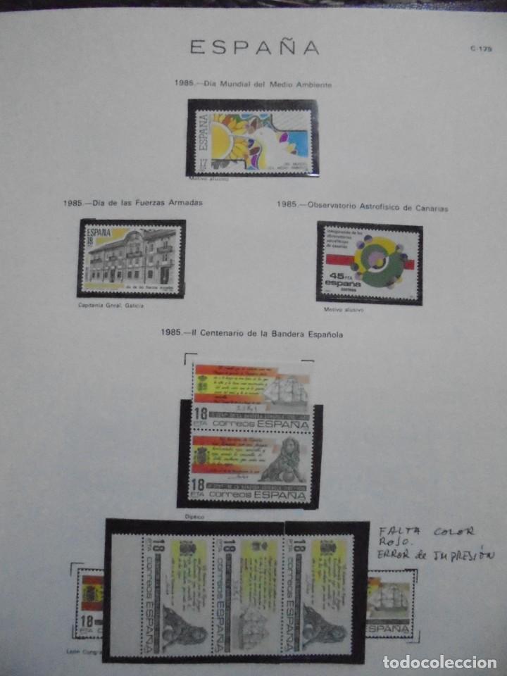 Sellos: ALBUM FIVA. ESPAÑA 1983 - 1991. SELLOS Y BLOQUES. COMPLETO DE HOJAS NO DE SELLOS. VER FOTOS - Foto 20 - 224273397