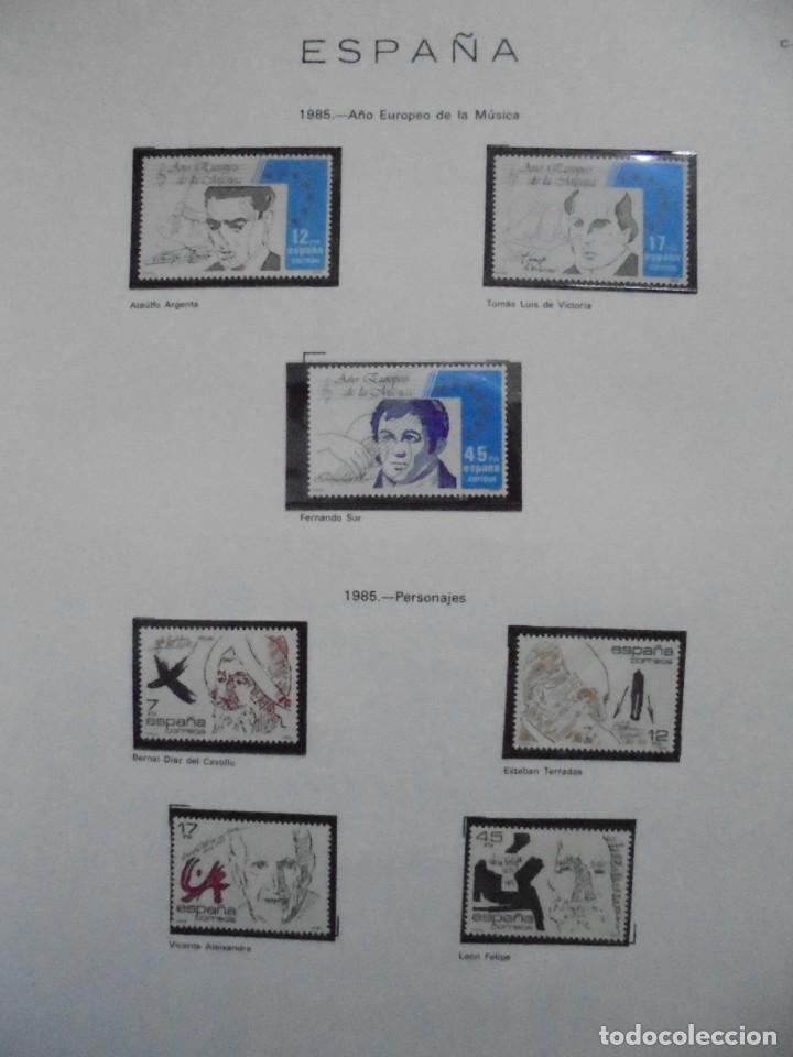 Sellos: ALBUM FIVA. ESPAÑA 1983 - 1991. SELLOS Y BLOQUES. COMPLETO DE HOJAS NO DE SELLOS. VER FOTOS - Foto 21 - 224273397