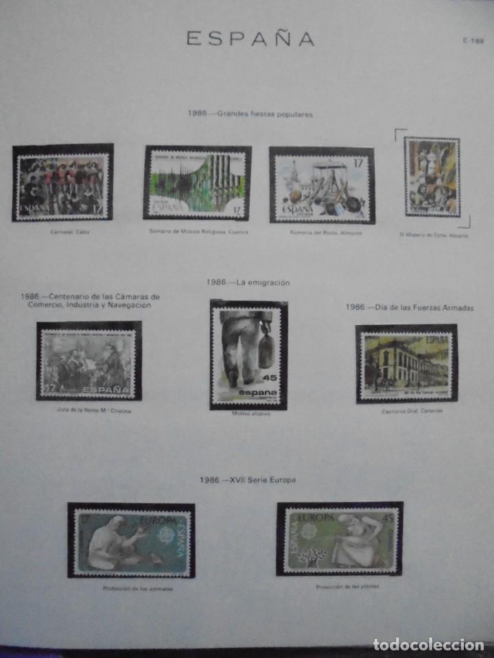 Sellos: ALBUM FIVA. ESPAÑA 1983 - 1991. SELLOS Y BLOQUES. COMPLETO DE HOJAS NO DE SELLOS. VER FOTOS - Foto 27 - 224273397