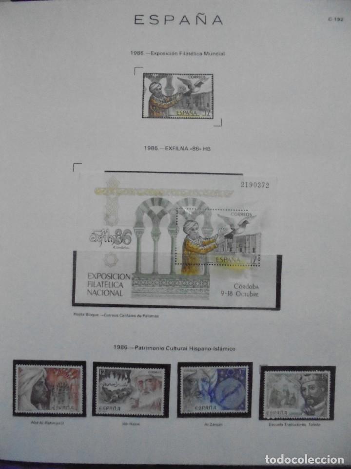 Sellos: ALBUM FIVA. ESPAÑA 1983 - 1991. SELLOS Y BLOQUES. COMPLETO DE HOJAS NO DE SELLOS. VER FOTOS - Foto 29 - 224273397