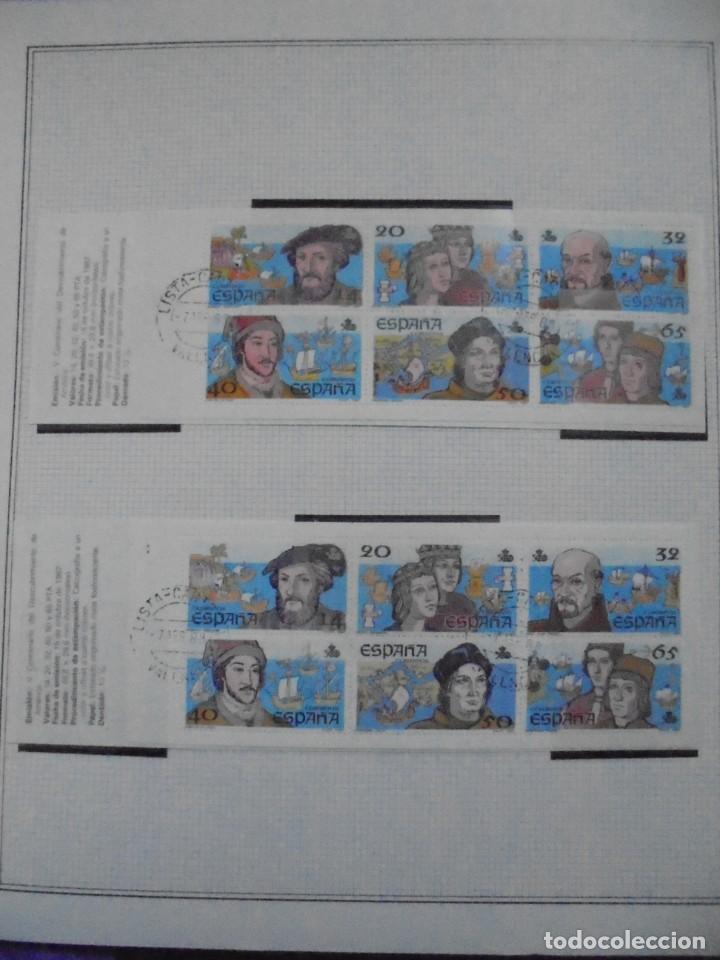 Sellos: ALBUM FIVA. ESPAÑA 1983 - 1991. SELLOS Y BLOQUES. COMPLETO DE HOJAS NO DE SELLOS. VER FOTOS - Foto 44 - 224273397