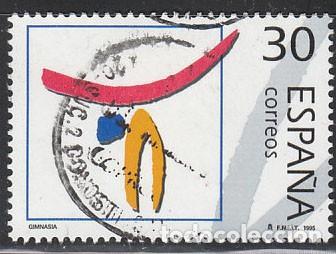 EDIFIL Nº 3368, OLIMPIADA DE BARCELONA 92, OLIMPICOS DE PLATA, HOCKEY SOBRE HIERBA, USADO (Sellos - España - Juan Carlos I - Desde 1.986 a 1.999 - Nuevos)