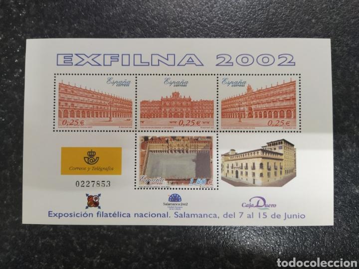 ESPAÑA 2002 HOJA BLOQUE ESFILNA (Sellos - España - Juan Carlos I - Desde 2.000 - Nuevos)