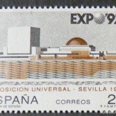 Francobolli: ESPAÑA 1992 EDIFIL 3155 EXPO ´92. SEVILLA MNH. Lote 224659493