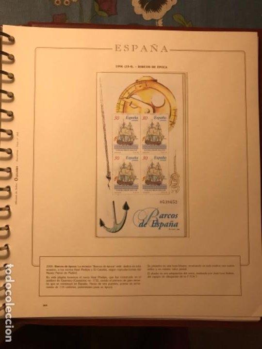 Sellos: SELLOS DE ESPAÑA AÑO 1996 - Foto 2 - 224873777