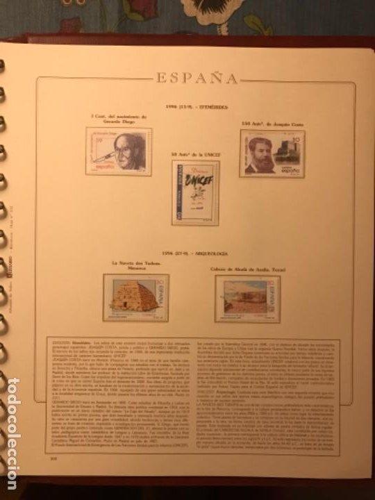 Sellos: SELLOS DE ESPAÑA AÑO 1996 - Foto 10 - 224873777
