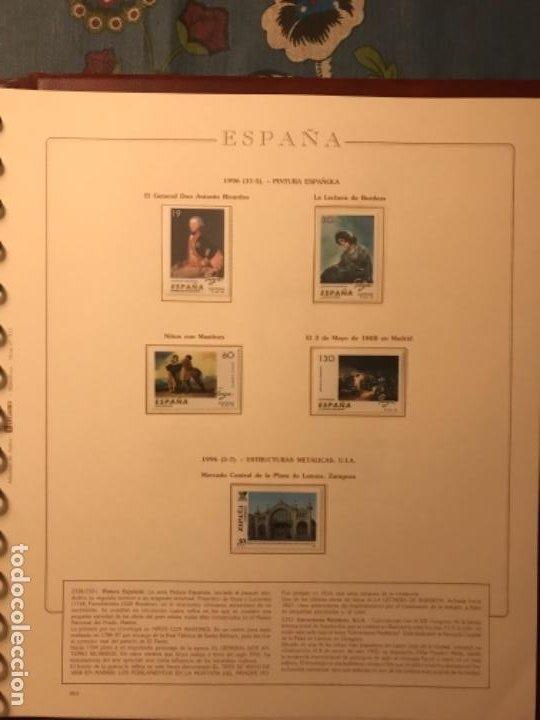 Sellos: SELLOS DE ESPAÑA AÑO 1996 - Foto 9 - 224873777