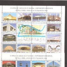 Sellos: SELLOS DE ESPAÑA AÑO 1992 HB NUEVAS** EXPO UNIVERSAL SEVILLA , EXPO¨92. Lote 225283087
