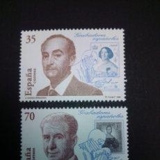 Sellos: EDIFIL 3550/3551. 1998, GRABADORES ESPAÑOLES. NUEVOS.. Lote 225868620