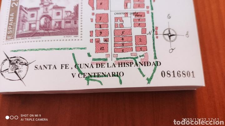 Sellos: 100 HOJAS BLOQUE, GRANADA EXPOSICIÓN MUNDIAL DE FILATELIA, 1992, ÚNICO, VER - Foto 6 - 226054615