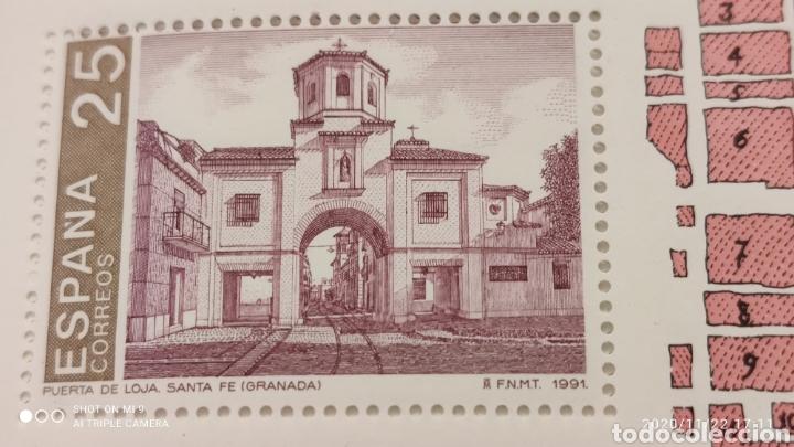 Sellos: 100 HOJAS BLOQUE, GRANADA EXPOSICIÓN MUNDIAL DE FILATELIA, 1992, ÚNICO, VER - Foto 7 - 226054615
