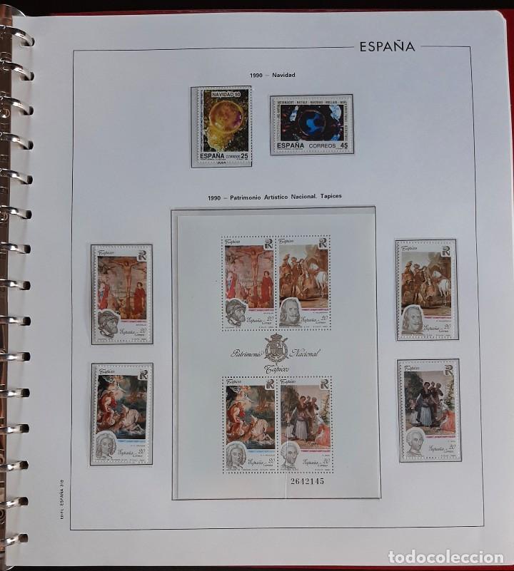 Sellos: SELLOS ESPAÑA 1990 COMPLETO NUEVO - HOJAS EDIFIL FILOESTUCHE TRANS - ED. 3047 A 3098 - Foto 6 - 226115031