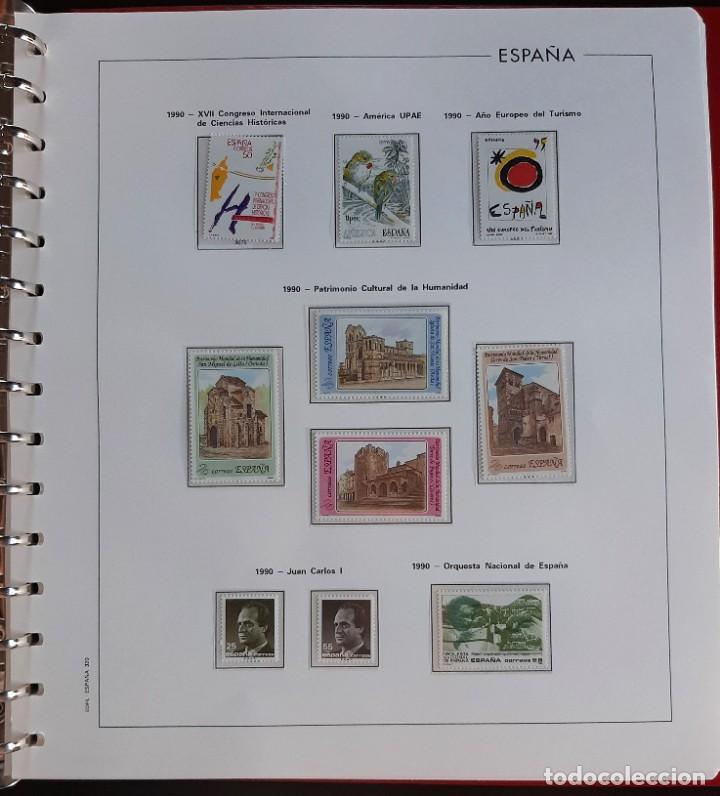 Sellos: SELLOS ESPAÑA 1990 COMPLETO NUEVO - HOJAS EDIFIL FILOESTUCHE TRANS - ED. 3047 A 3098 - Foto 7 - 226115031