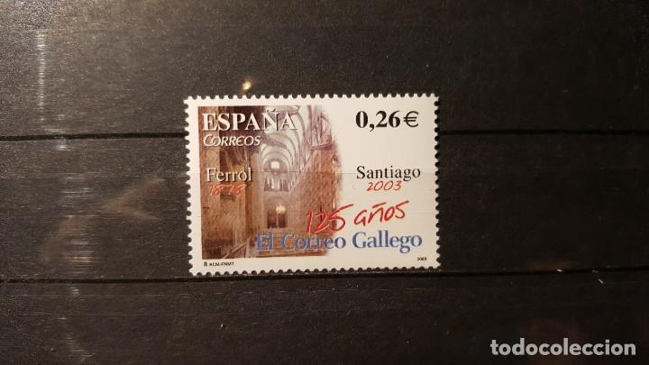 SELLO NUEVO. DIARIOS CENTENARIOS. EL CORREO GALLEGO. SANTIAGO. 1 AGOSTO 2003. EDIFIL 4011. (Sellos - España - Juan Carlos I - Desde 2.000 - Nuevos)
