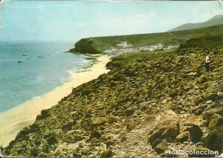Sellos: Tarjeta postal circulada ,matasellada Puerto del Rosario en Las Palmas - Foto 2 - 226430787