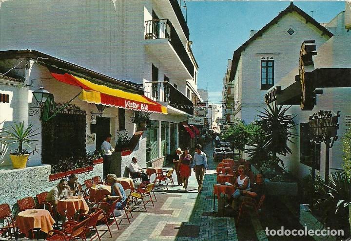 Sellos: Tarjeta postal circulada matasellada con el cuño Ambulante ferroviario Madrid Málaga - Foto 2 - 226433380