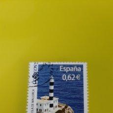 Selos: MALLORCA FARO PUERTO COLÓN ESPAÑA 2009 EDIFIL 4483 A USADO LUJO FILATELIA COLISEVM. Lote 226751100