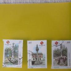 Selos: USADO CRUCEROS GALICIA JACOVEO 1999 EDIFIL 3616 3619 3620 USADO FILATELIA COLISEVM ANTIGÜEDADES. Lote 226948705