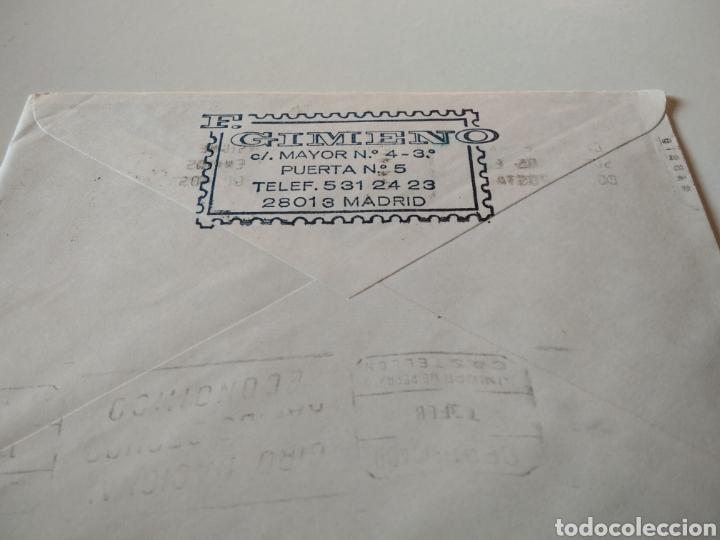 Sellos: Sobre con sellos certificado - Foto 2 - 227468805