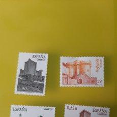Sellos: 2004 CASTILLOS ESPAÑA EDIFIL 4097/0 NUEVA O USADA FILATELIA COLISEVM ANTIGÜEDADES COLECCIONISMO. Lote 229652785