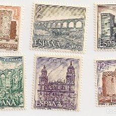 Selos: AÑO 1977 - SERIE TURÍSTICA COMPLETA 6 VALORES - EDIFIL 2417 AL 2422 - NUEVOS. Lote 229730015