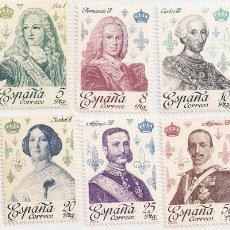 Sellos: AÑO 1978 - REYES DE ESPAÑA CASA DE BORBÓN - SERIE COMPLETA 10 VALORES - EDIFIL 2496 AL 2505 - NUEVOS. Lote 230093970