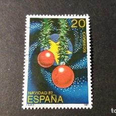 Sellos: SELLO USADO. NAVIDAD. COLORES DE ESPAÑA Y EUROPA. 17 NOVIEMBRE DE 1987. EDIFIL 2925. Lote 231061615