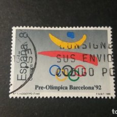 Sellos: SELLO USADO. JUEGOS OLÍMPICOS BARCELONA ´92. ESPAÑA. 3 DE OCTUBRE DE1988. EDIFIL 2963.. Lote 95431503