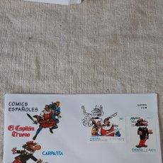 Selos: CÓMICS ESPAÑA PERSONAJES CAPITAN TRUENO MIGUEL AMBRISIO/CARPANTA JOSE ESCOBAR EDIFIL 3359/0 1995. Lote 231121795