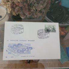 Sellos: SOBRE NUMERADO CONMEMORATIVO VII EXPOSICIÓN FILATELIA DE DRAGADOS 1986 N139. Lote 231572595