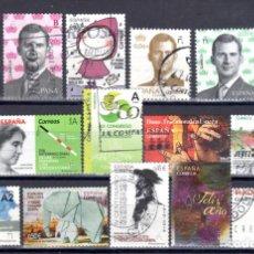 Sellos: LOTE DE SELLOS DESDE EL AÑO 2000 USADOS. Lote 231902910