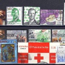 Sellos: LOTE DE SELLOS DESDE EL AÑO 2000 USADOS. Lote 231904025
