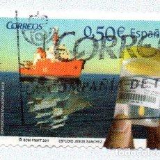 Sellos: 2011 BIODIVERSIDAD Y OCEANOGRAFÍA EDIFIL 4627 USADO. Lote 232727560