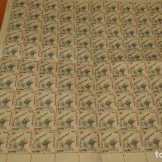Sellos: PLIEGO 100 SELLOS 14 PTAS VISITA PAPA JUAN PABLO II. Lote 232888185