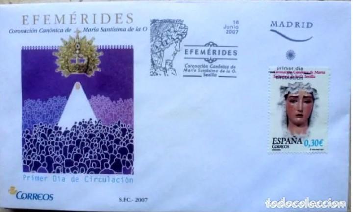 SOBRE ESPAÑA 2007- FOTO 555- ERFEMERIDES (Sellos - España - Juan Carlos I - Desde 2.000 - Cartas)