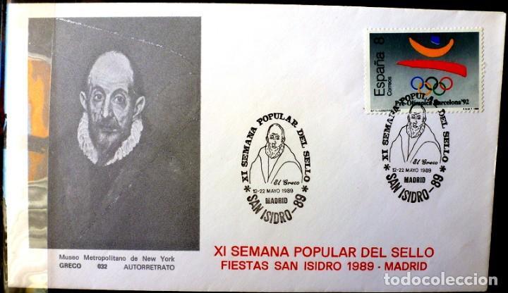 SOBRE ESPAÑA 1987- FOTO 337- (Sellos - España - Juan Carlos I - Desde 1.986 a 1.999 - Cartas)