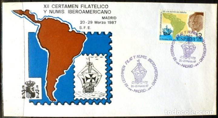 SELLOS ESPAÑA 1987 - FOTO 336 (Sellos - España - Juan Carlos I - Desde 1.986 a 1.999 - Cartas)