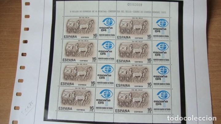 ESPAÑA 1983 MINI PLIEGO 2 PEFFECTO SIN CHARNELAS (Sellos - España - Juan Carlos I - Desde 1.975 a 1.985 - Nuevos)