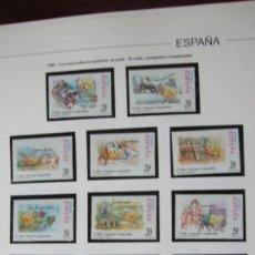 Sellos: ESPAÑA 1999 EDIFIL 3665/76. Lote 234561170