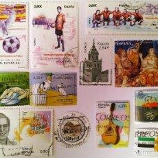 Sellos: FICHA CON SELLOS 2011 USADOS. Lote 234673145