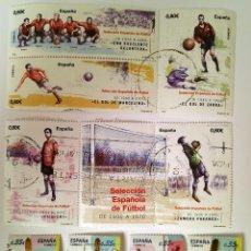 Sellos: FICHA CON SELLOS 2011 USADOS (2 SERIES COMPLETAS). Lote 234676390