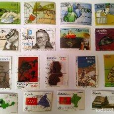 Sellos: FICHA CON SELLOS 2011 USADOS. Lote 234679045