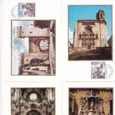 Sellos: SELLOS ESPAÑA 1979 EDIFIL 2527/2530 TARJETAS POSTALES CON MATASELLO DEL PRIMER DIA. Lote 234812825