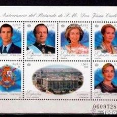 Sellos: ESPAÑA. 2001. HB. 25º ANIVERSARIO REINADO DE S.M.JUAN CARLOS I. **.,MNH. Lote 234838350