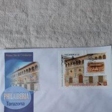Sellos: ESPAÑA 2002 EDIFIL 3881 USADO HOJA BLOQUE SALAMANCA EXPOSICIÓN FILATÉLICA JUVENIL FILATELIA COLISEV. Lote 235233195