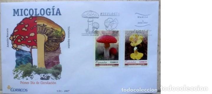 SOBRES ESPAÑA 2007 - FOTO 556 - MICROLOGIA (Sellos - España - Juan Carlos I - Desde 2.000 - Cartas)