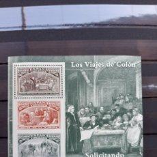Sellos: (ESPAÑA)(1992) HB LOS VIAJES DE COLÓN. Lote 235518660